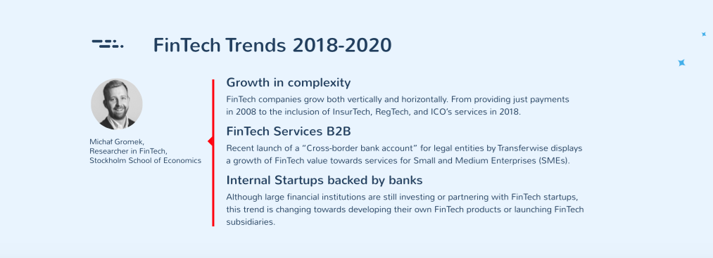 Fintech Trends 2018-2020 in CEE